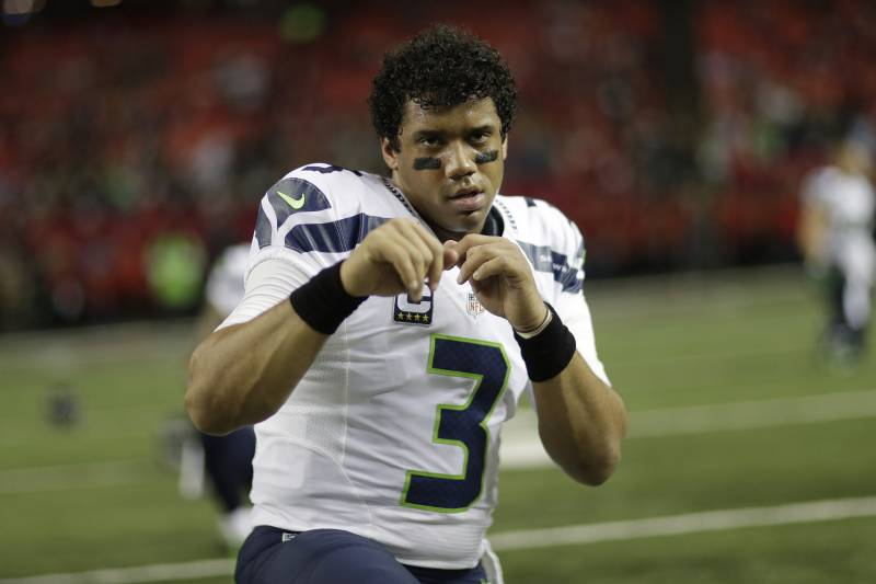 89a51d05eebb Russell Wilson on His New Cleat, Misconceptions and the Best Singers of All  Time
