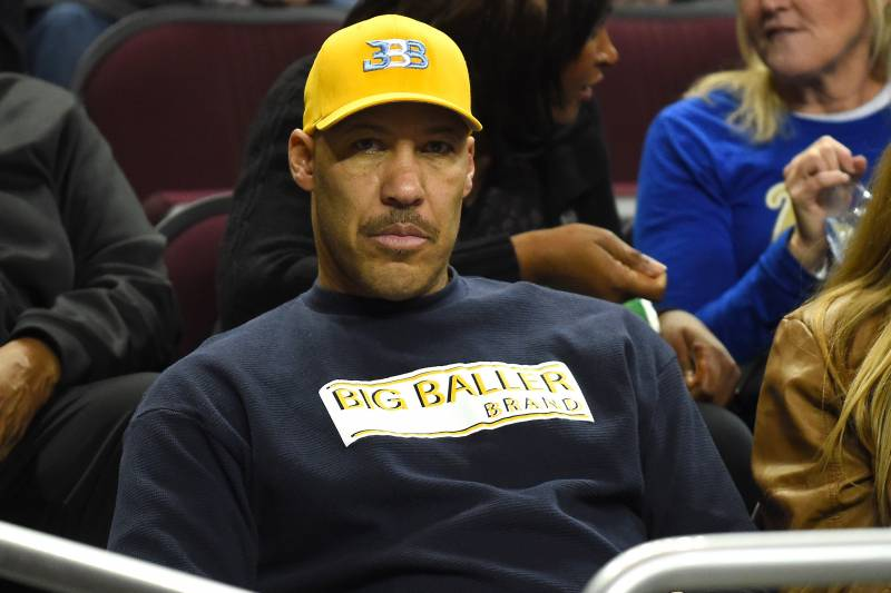 Picture of Lonzo  Ball Father, called Lavar