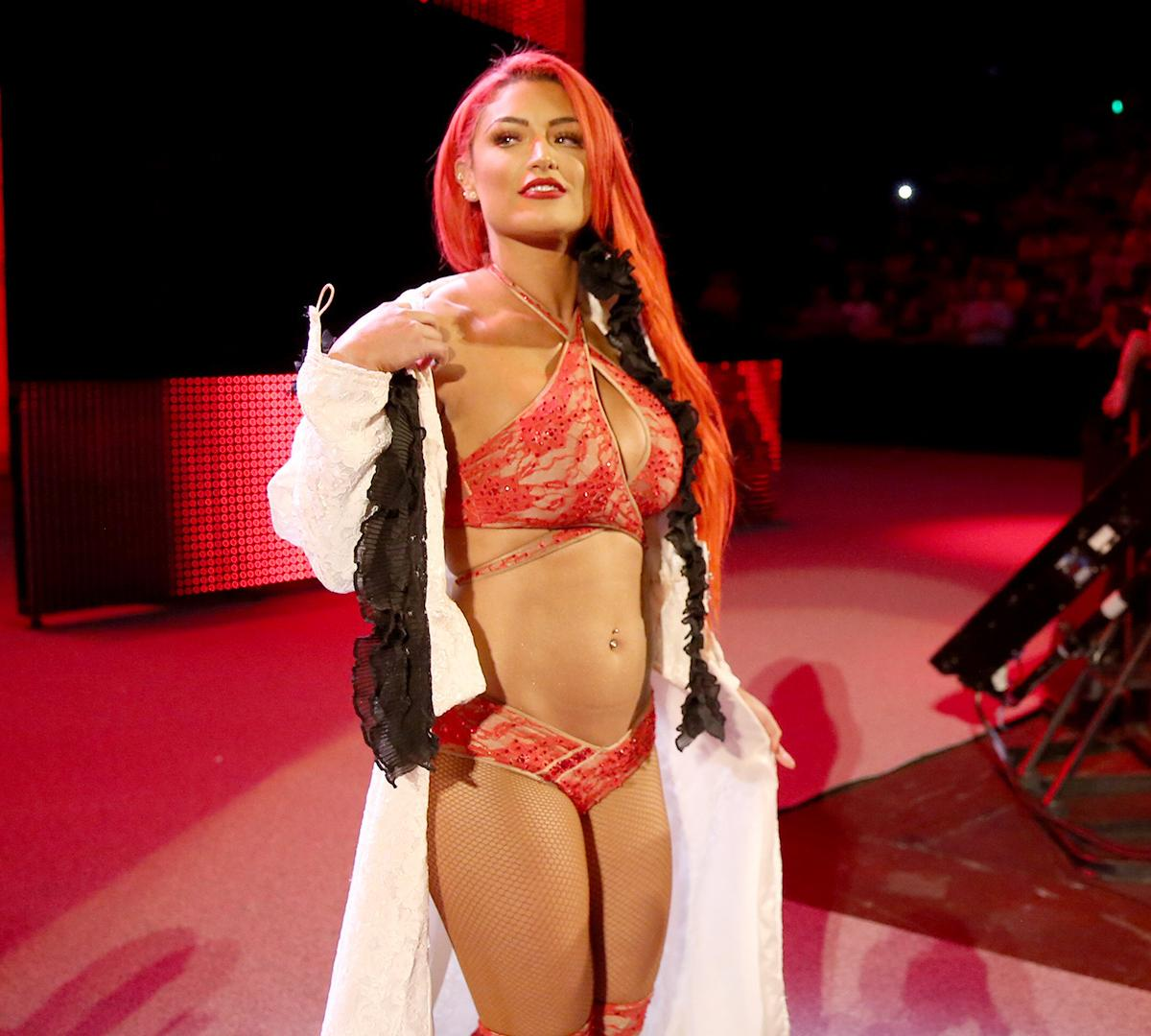 Why was eva marie suspended from wee