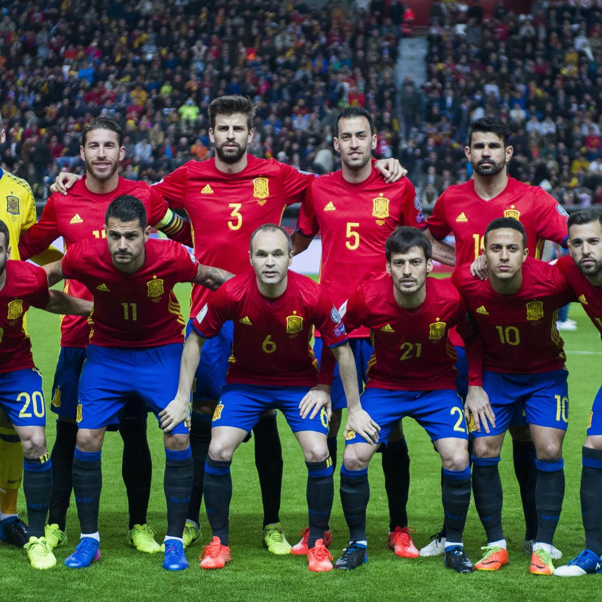 Picking Spain S 2018 World Cup Squad After Latest International