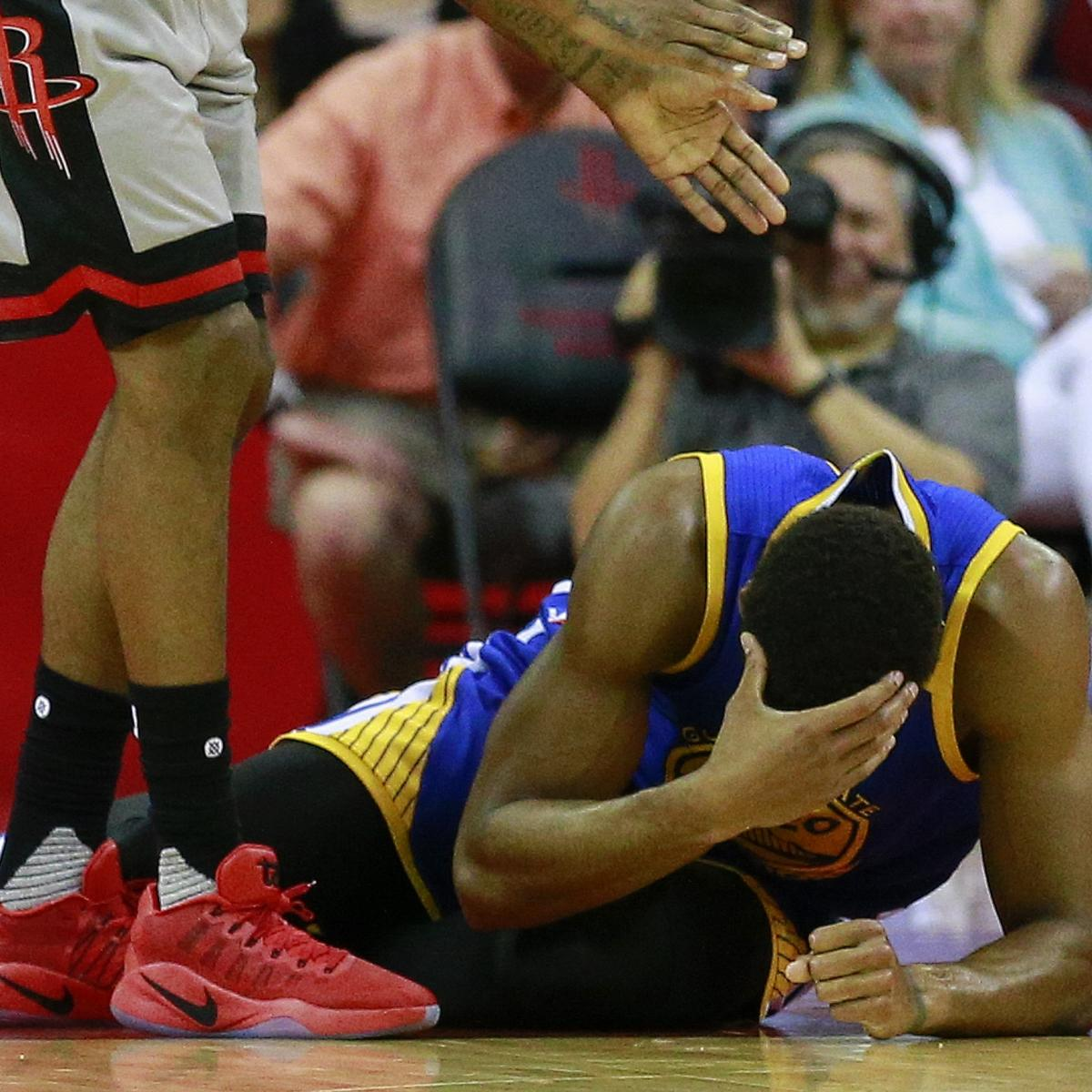 Rockets Vs Warriors Head To Head: James Michael McAdoo Posts Photo Of Face Injury After