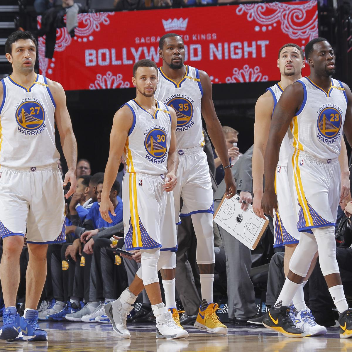 Warriors Come Out To Play Bleacher Report: Golden State Warriors Clinch No. 1 Seed In Western