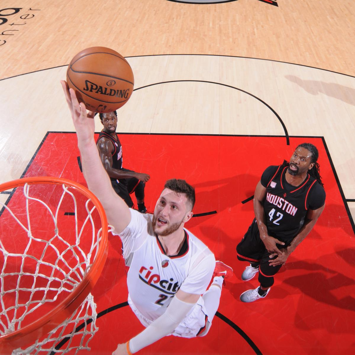 Warriors Come Out To Play Bleacher Report: Jusuf Nurkic Will Play In Game 3 Vs. Warriors After