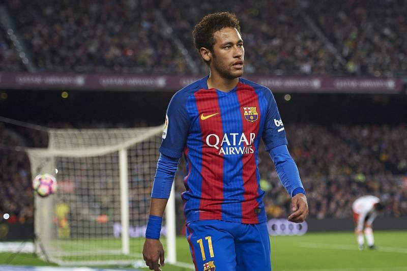 Neymar, ex-blaugrana ormai, durante un match con il Barcellona, foto: fotopress/Getty Images
