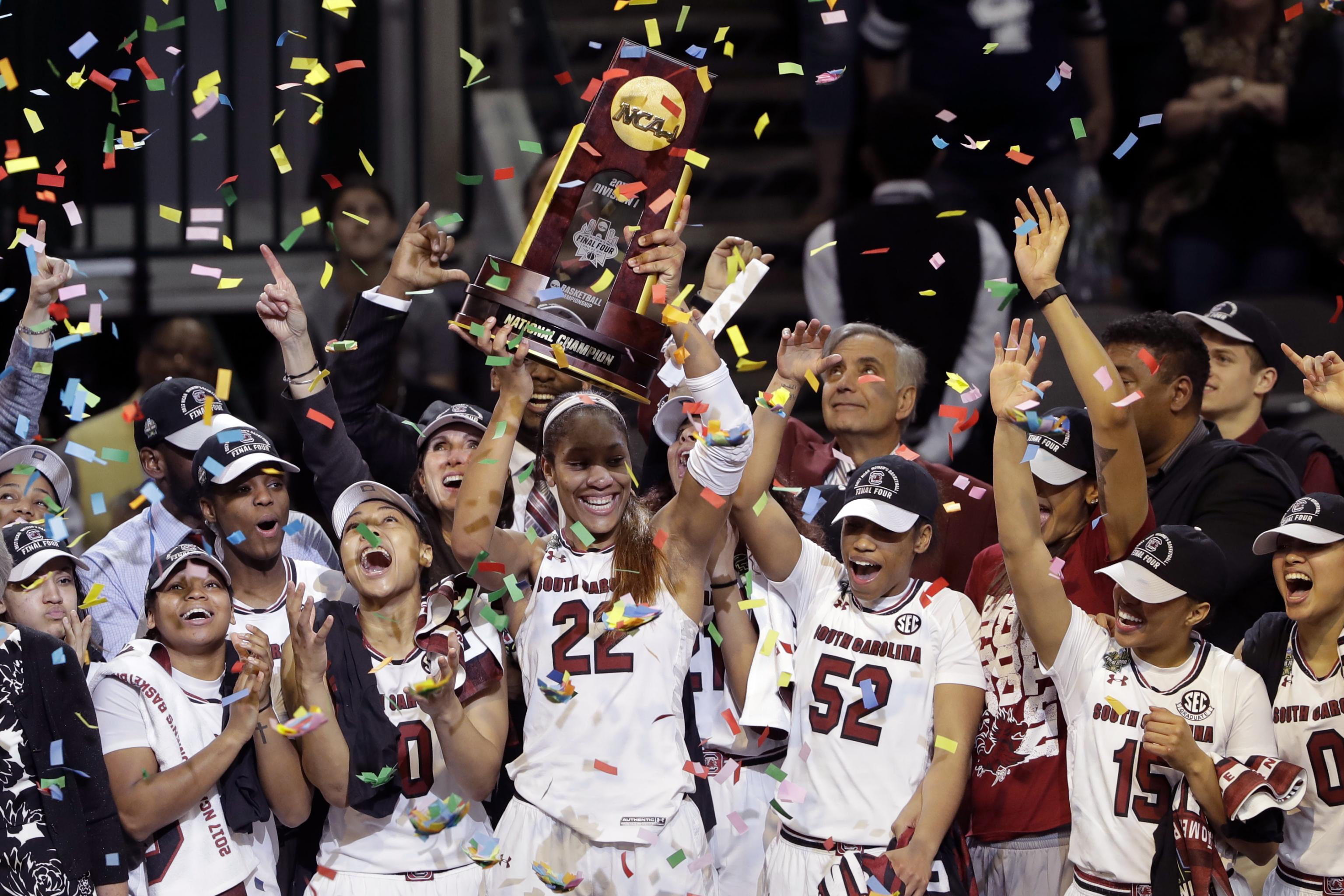 South Carolina Wins 1st-Ever NCAA Women's Championship over Mississippi St  | Bleacher Report | Latest News, Videos and Highlights