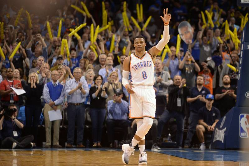 Russell Westbrook Powers OKC Thunder to Easy 110-79 Win vs