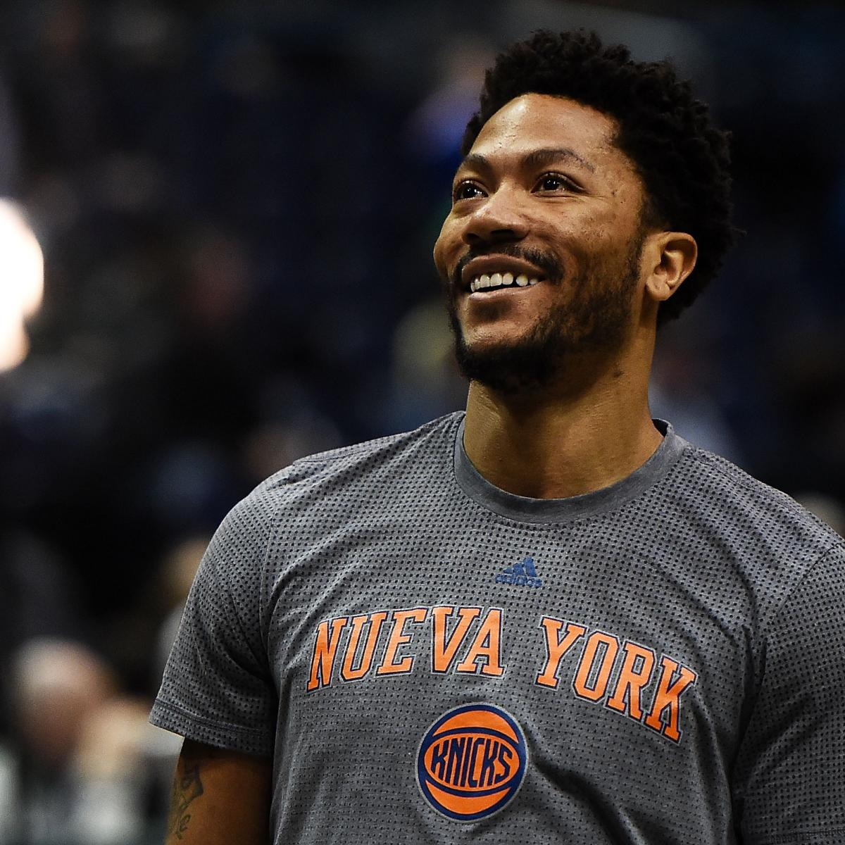 Derrick Rose Underwent Surgery on Knee Injury, Full Recovery Expected ...