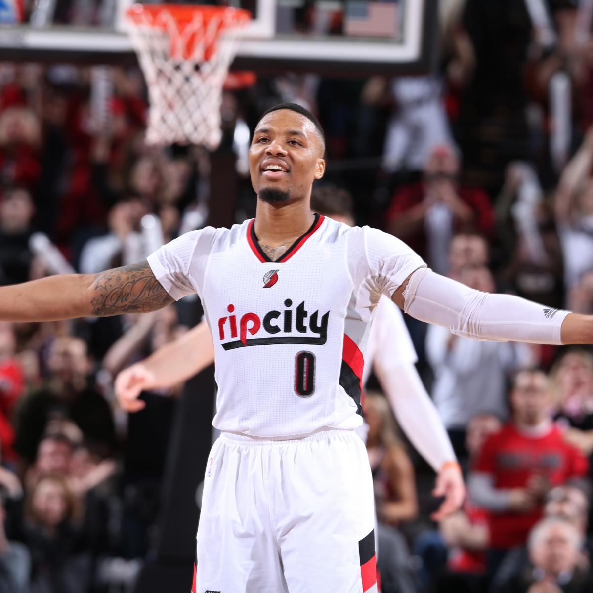 NBA Playoff Picture 2017: Updated Postseason Bracket