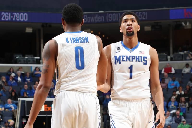 separation shoes ae4b5 a33a9 Dedric, K.J. Lawson to Transfer to Kansas from Memphis ...