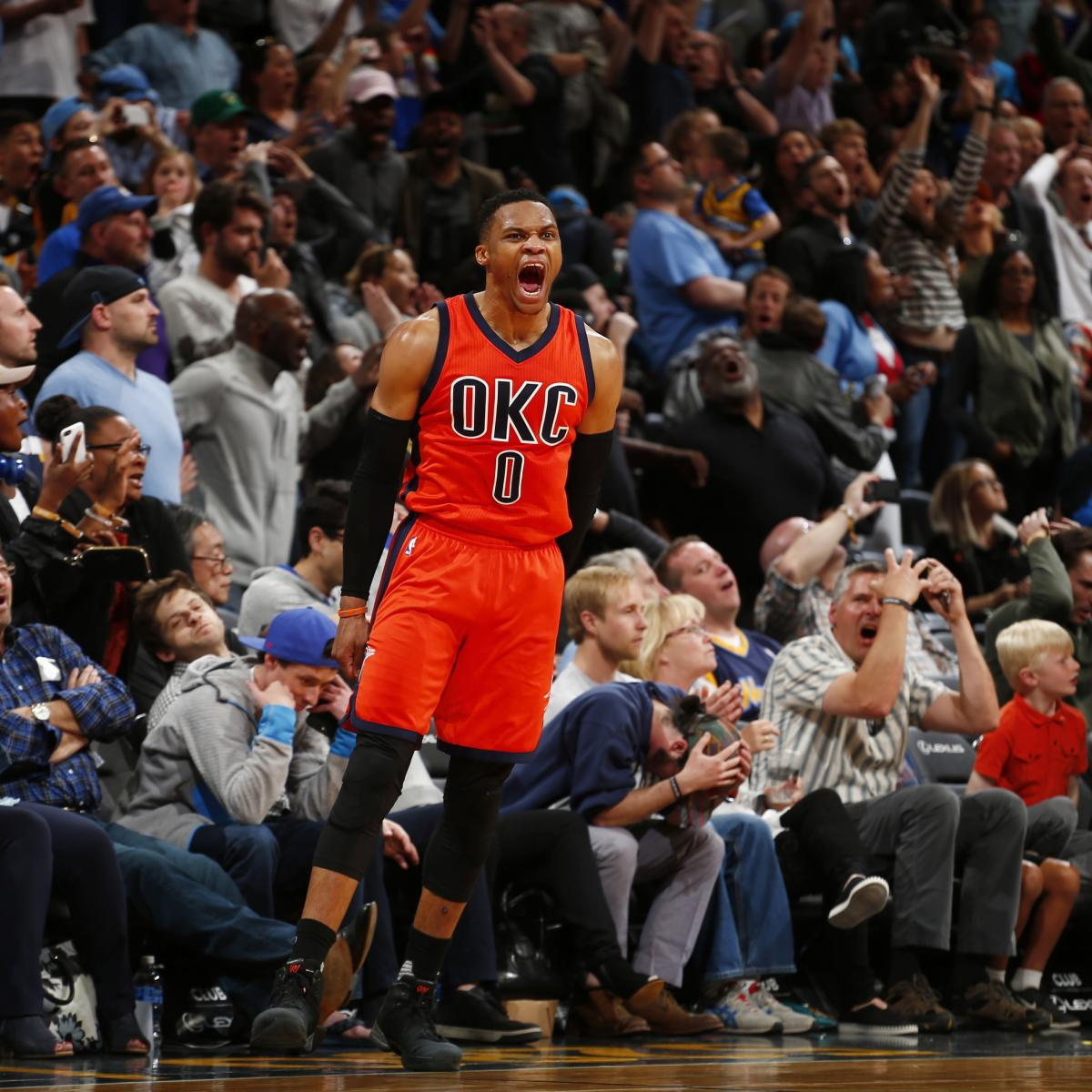 Nuggets Hall Of Famers: Oscar Robertson Honors Russell Westbrook Before Thunder's