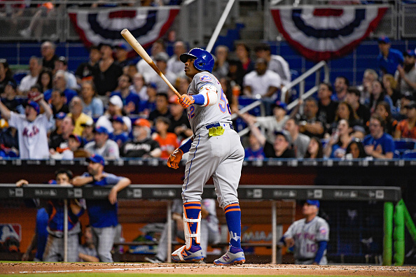 low priced 6d5fd 1a24a Mets Star Yoenis Cespedes Notches 2nd Multi-HR Game of 2017 ...
