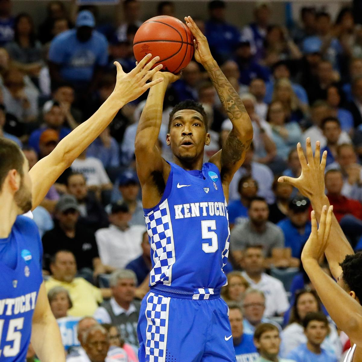 T Of C Alums 2017 Nba Draft: Malik Monk Slips To Hornets At No. 11 Overall In 2017 NBA
