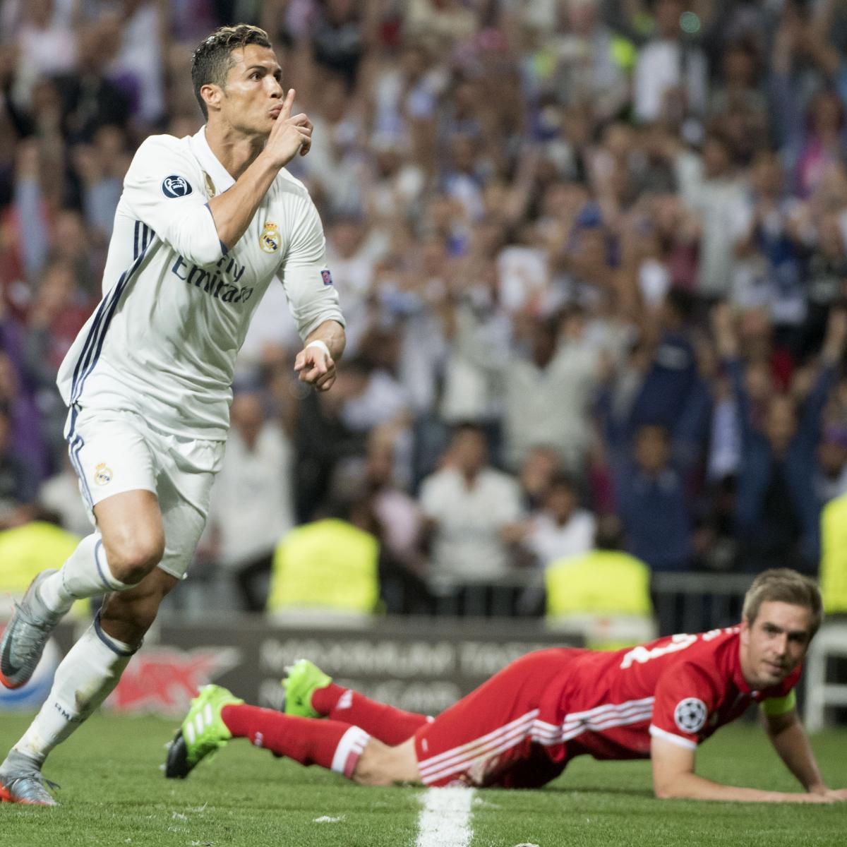 Cristiano Ronaldo S 4 Goals Lead Real Madrid To Win Vs: Cristiano Ronaldo Hat-Trick Puts Real Madrid In 7th