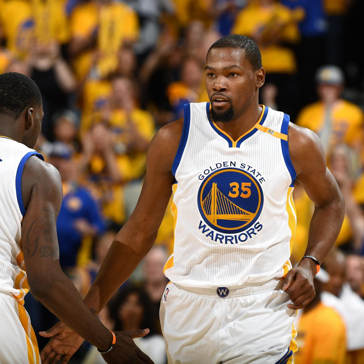 Kevin Durant Questionable For Game 3 Vs. Trail Blazers