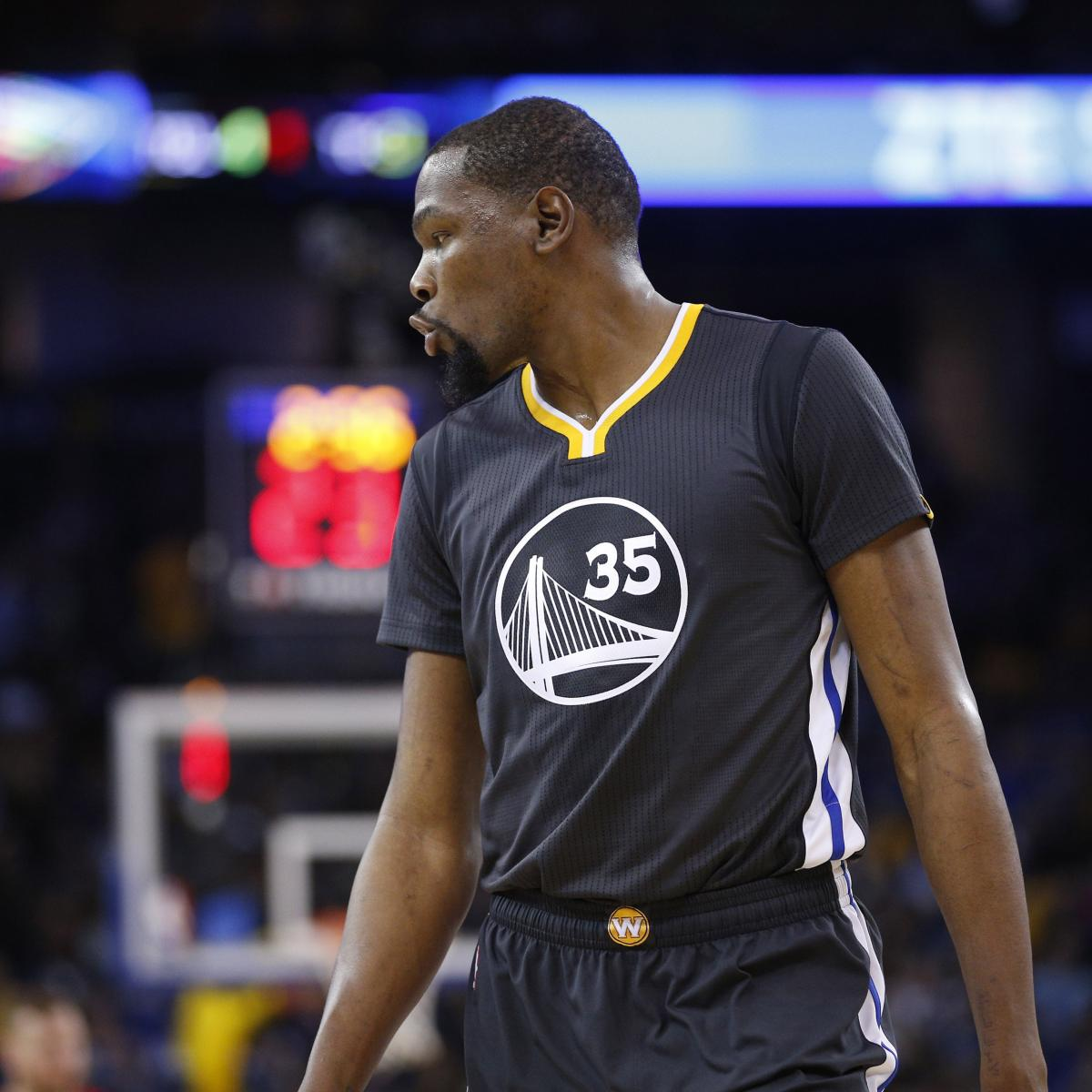 Warriors Kevin Durant Injury Update: Kevin Durant Out For Warriors Vs. Timberwolves Due To