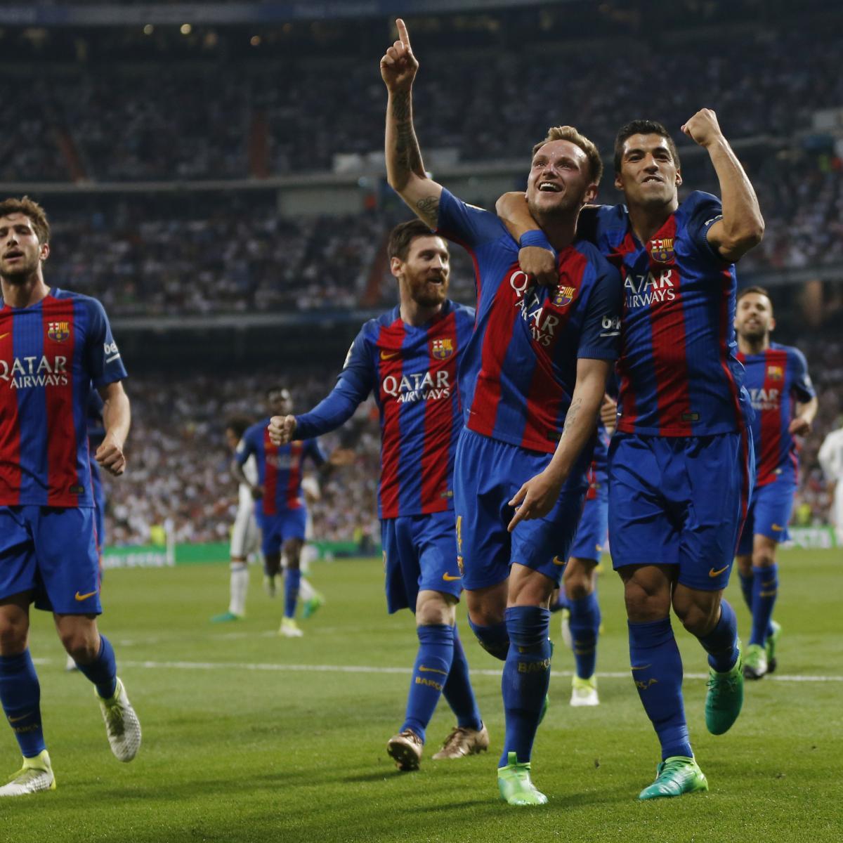 Celta Vigo Vs Barcelona Predictions Today: La Liga Fixtures 2017: Schedule, Live Stream And Week 34