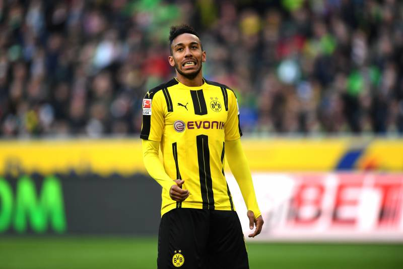 official photos 6e29e 32279 Pierre-Emerick Aubameyang Rumoured to Have Met with PSG over ...