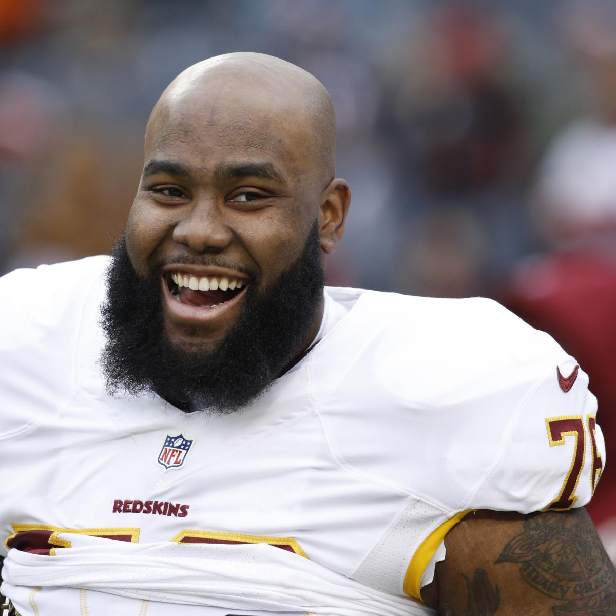 Morgan Moses, Redskins Agree To 5-Year Contract Extension