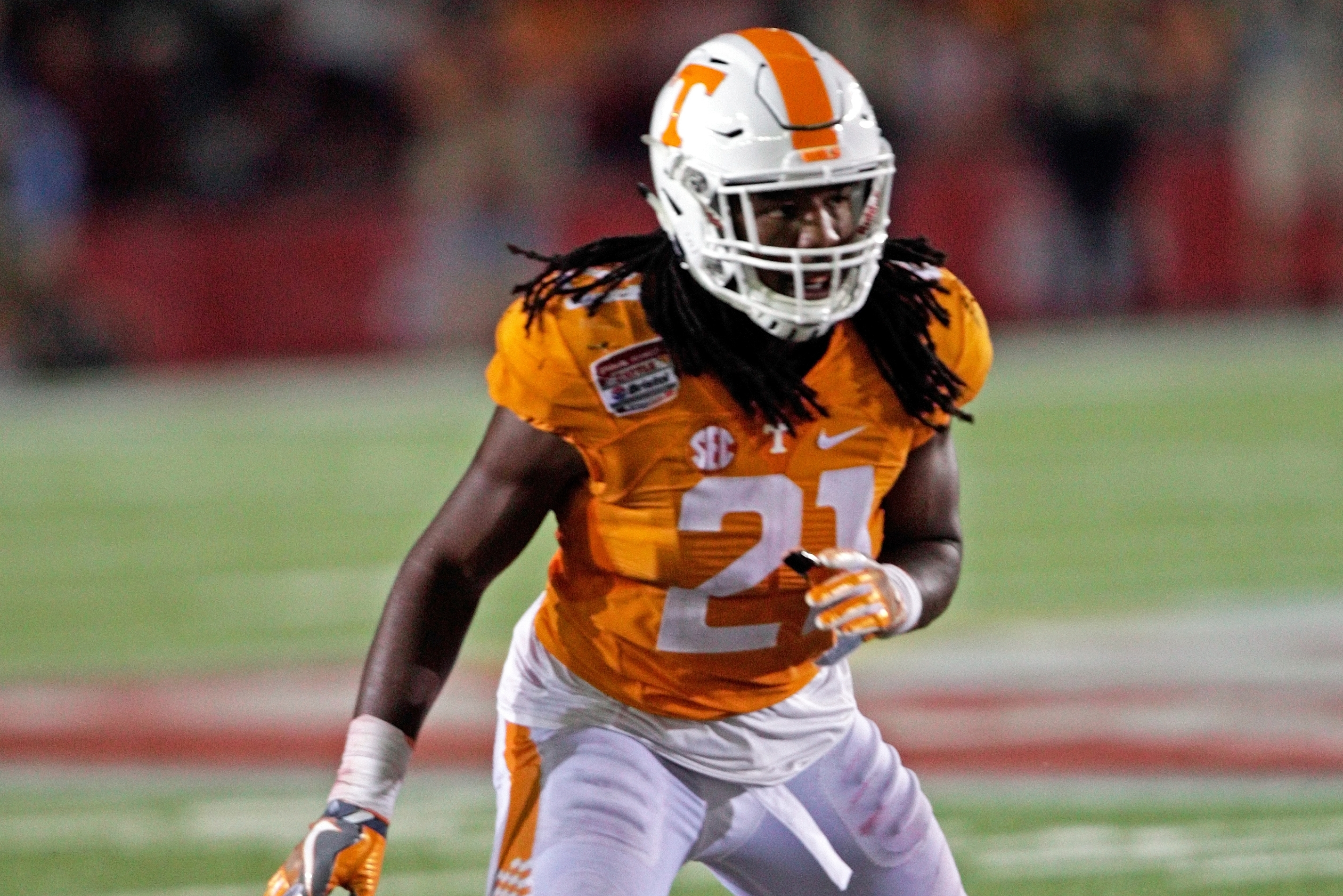 low priced cd672 f8ba5 Jalen Reeves-Maybin NFL Draft 2017: Scouting Report for ...