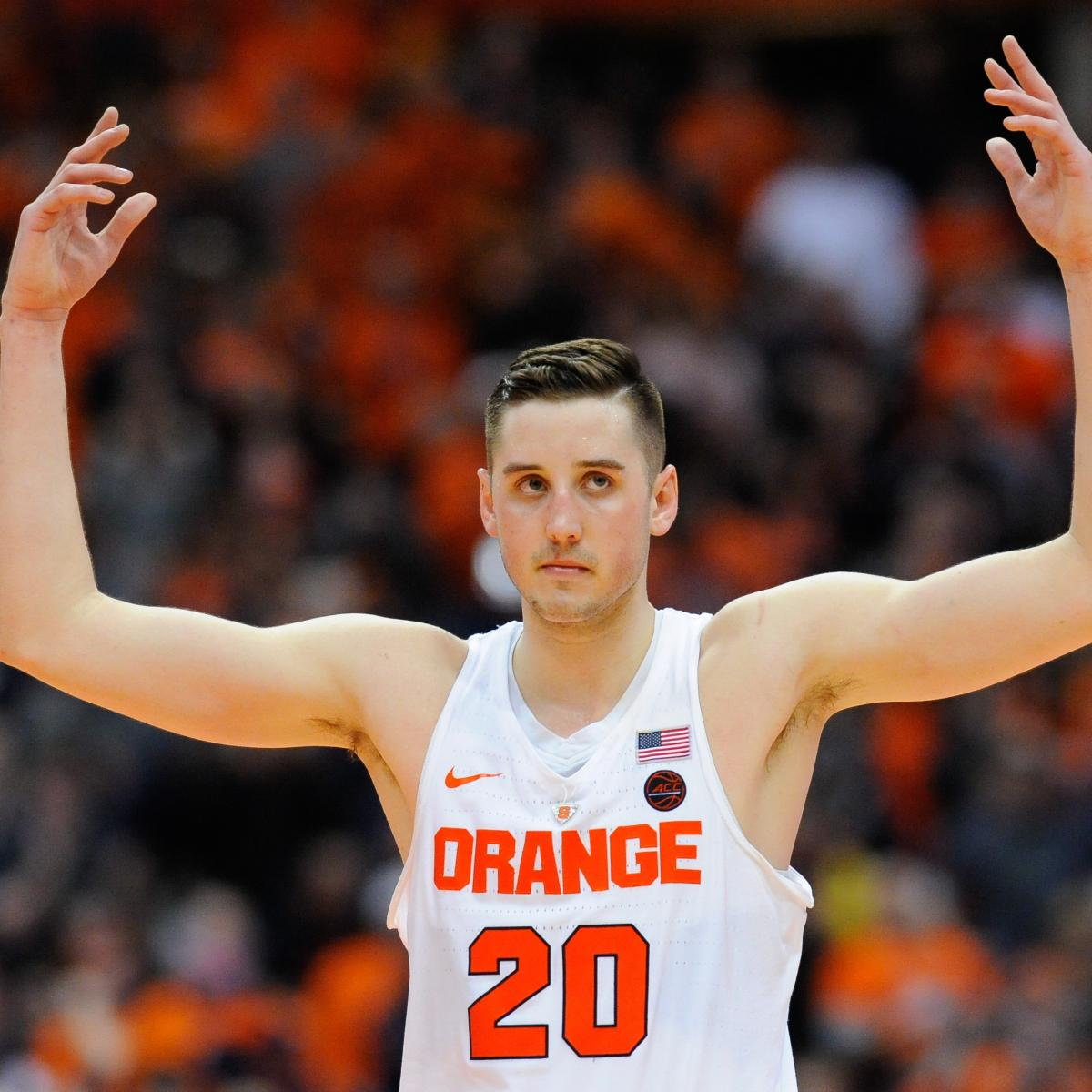 Tyler Lydon Selected In 2017 NBA Draft, Jazz To Trade Him