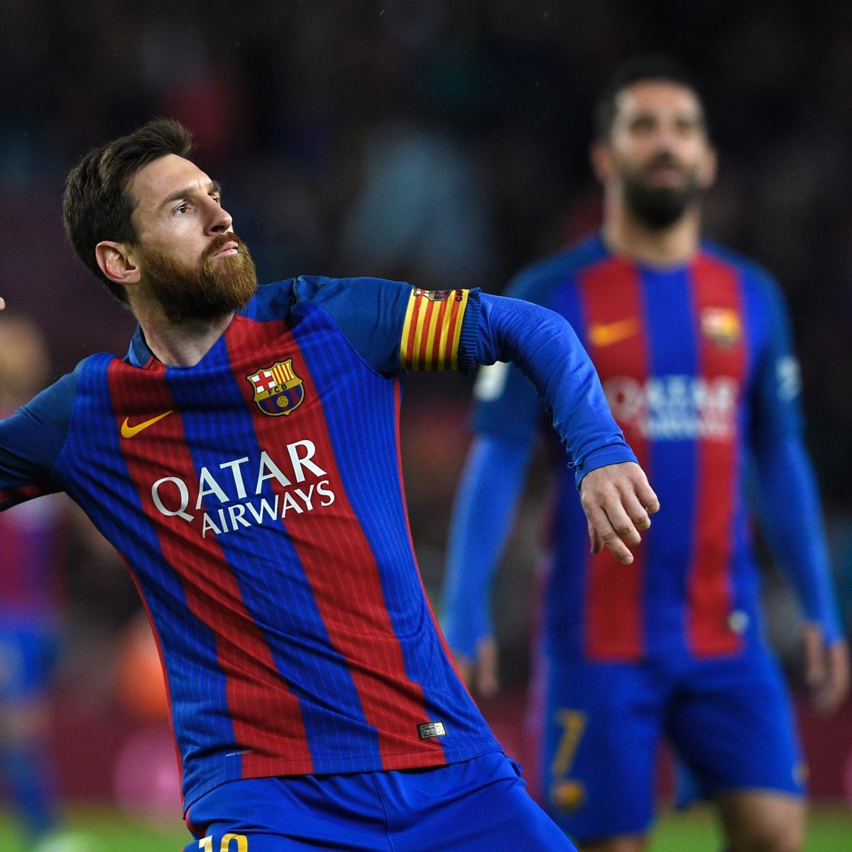 Lionel Messi Wins 2016 17 Pichichi Trophy After 37 Goals In La Liga