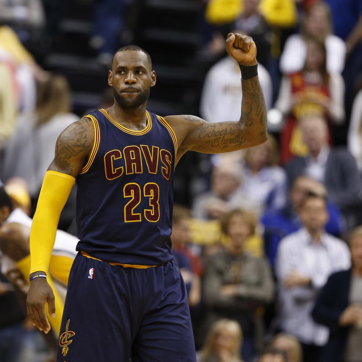 2017 Latest News: 2017 NBA Playoff MVP Rankings: Can Anyone Catch LeBron