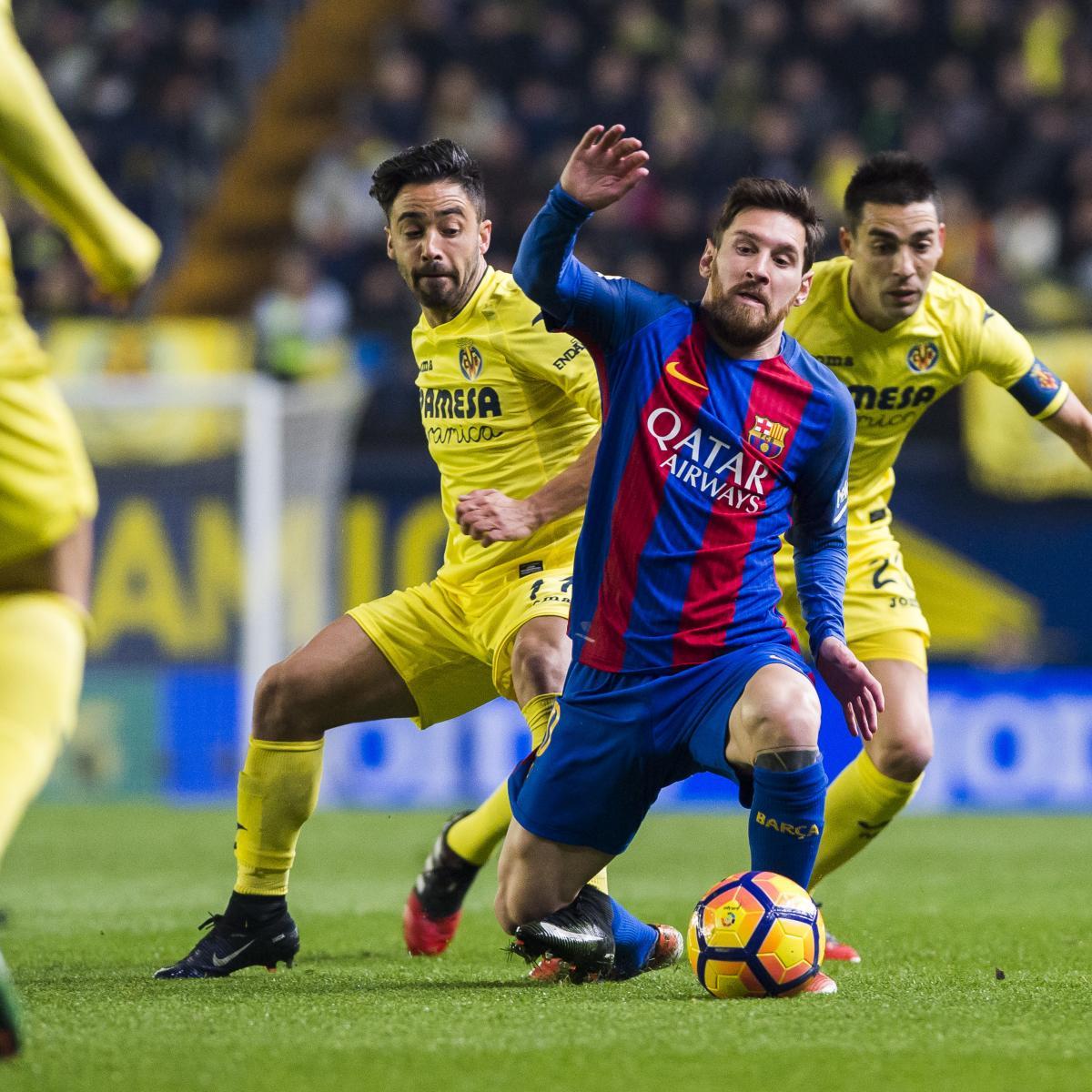 Barcelona vs. Villarreal: Team News, Preview, Live Stream ...