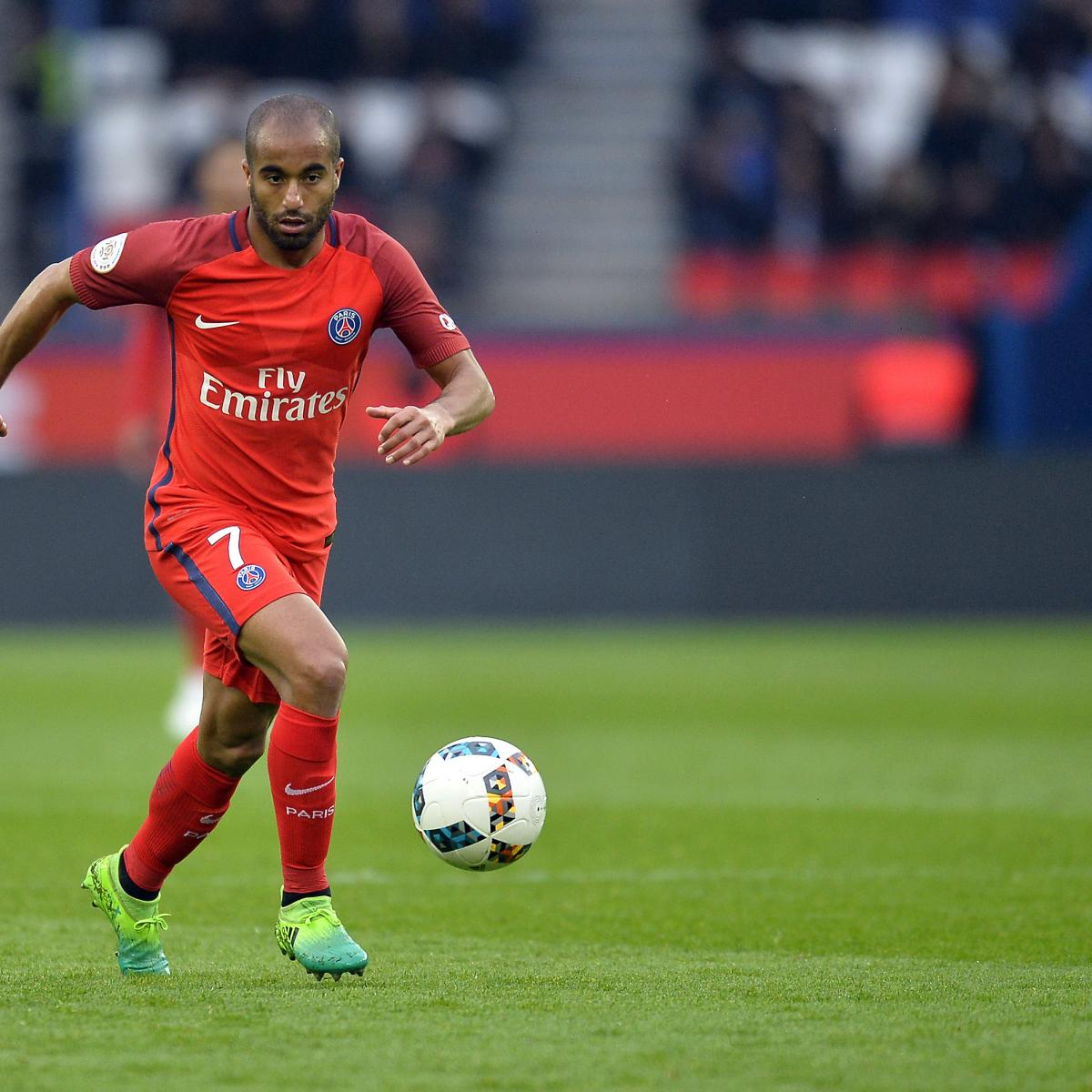 Salario Lucas Moura Psg 2017: PSG Transfer News: Latest Rumours On Lucas Moura And