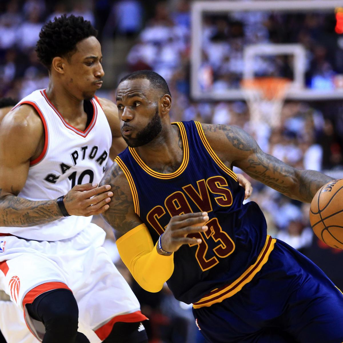 DeMar DeRozan Says Raptors Would've Won Vs. Cavaliers If