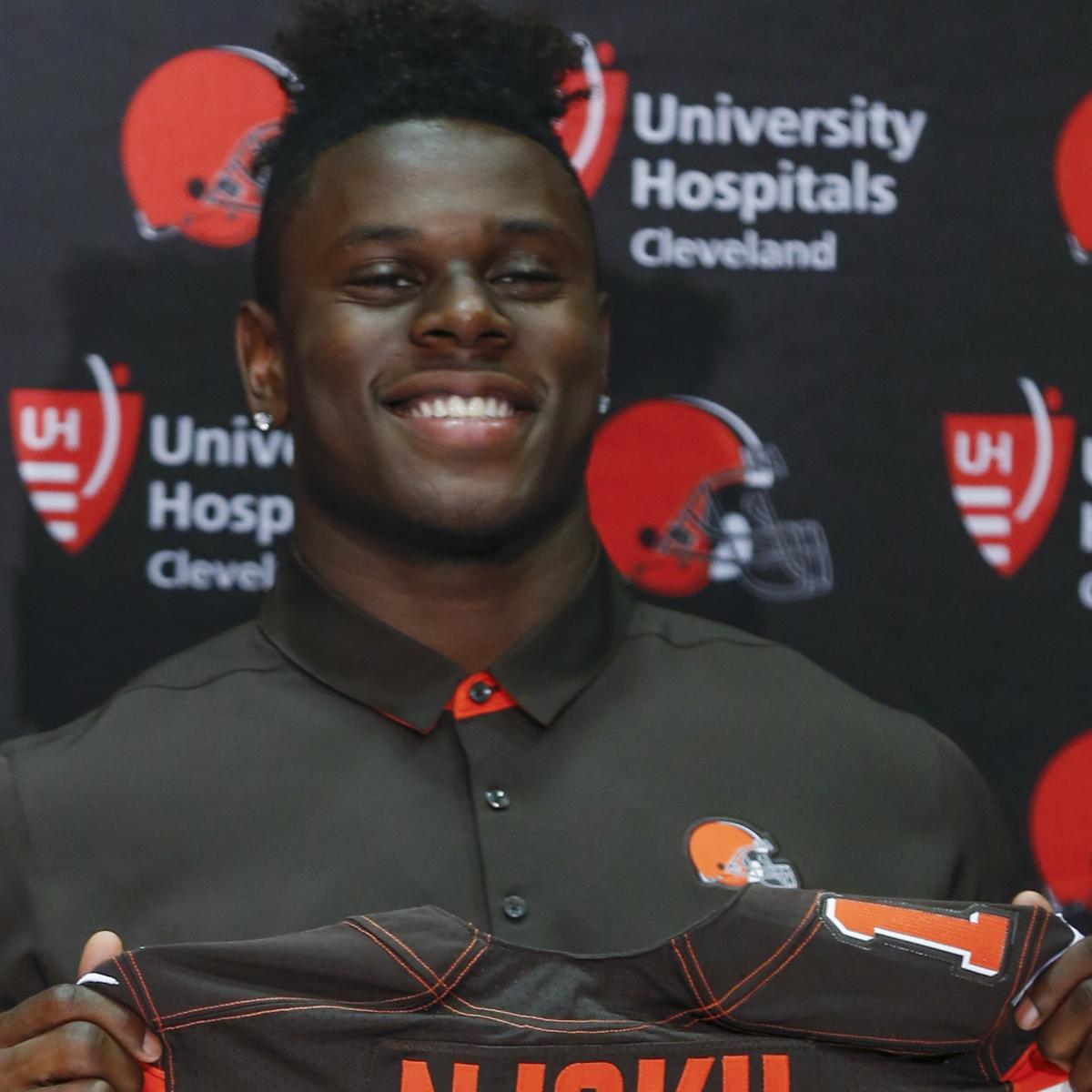 David Njoku Agrees to Rookie Contract with Cleveland Browns