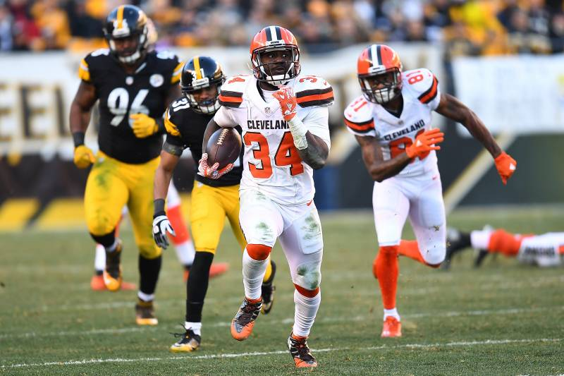 huge selection of b3d98 64aaa Isaiah Crowell Signs RFA Tender with Browns | Bleacher ...