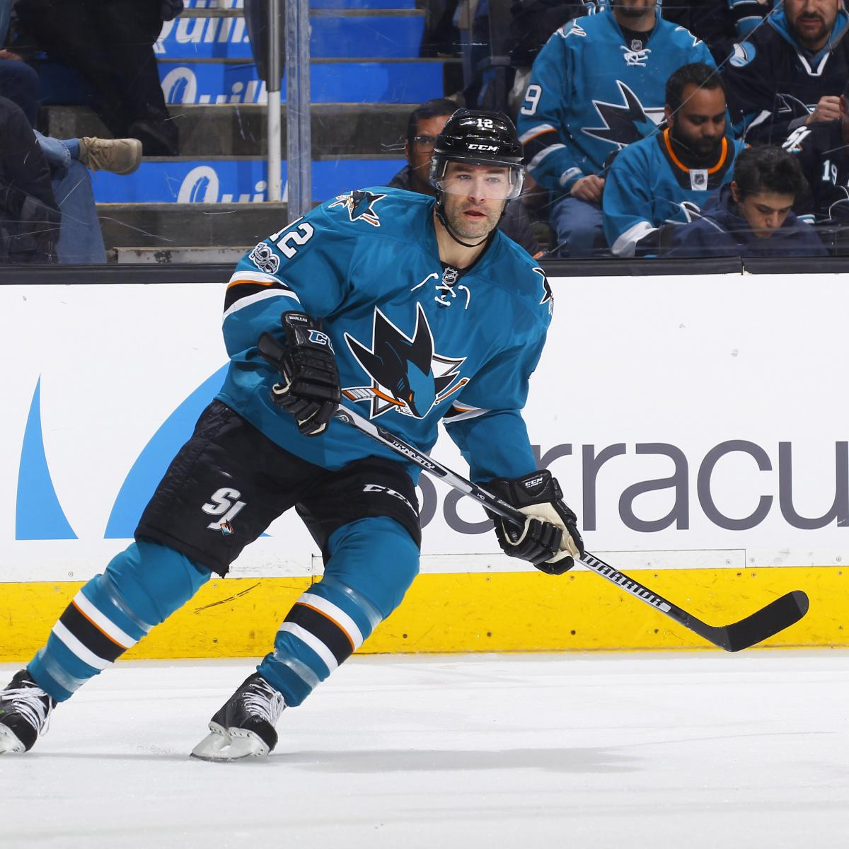 Patrick Marleau, Maple Leafs Agree on 3-Year, $18.75 ...