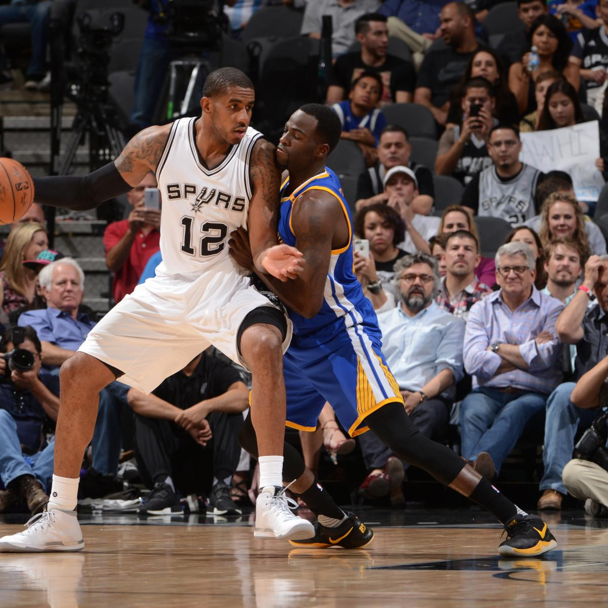 Warriors Game Broadcast Tv: NBA Playoff Schedule 2017: TV Info, Predictions For Spurs