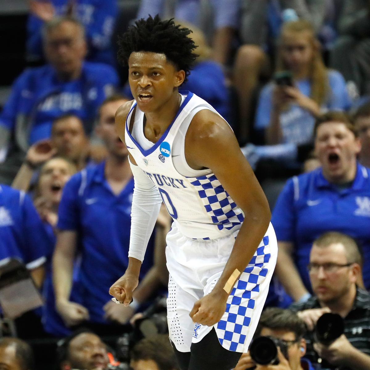 T Of C Alums 2017 Nba Draft: De'Aaron Fox Says He's The Best PG In 2017 NBA Draft
