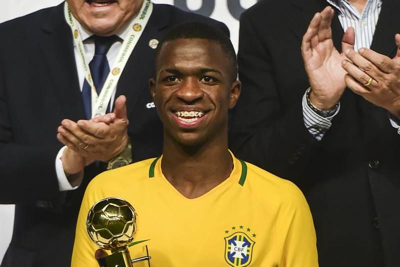 huge discount b4c5e 8c547 Real Madrid Transfer News: Vinicius Junior Signs New Deal ...