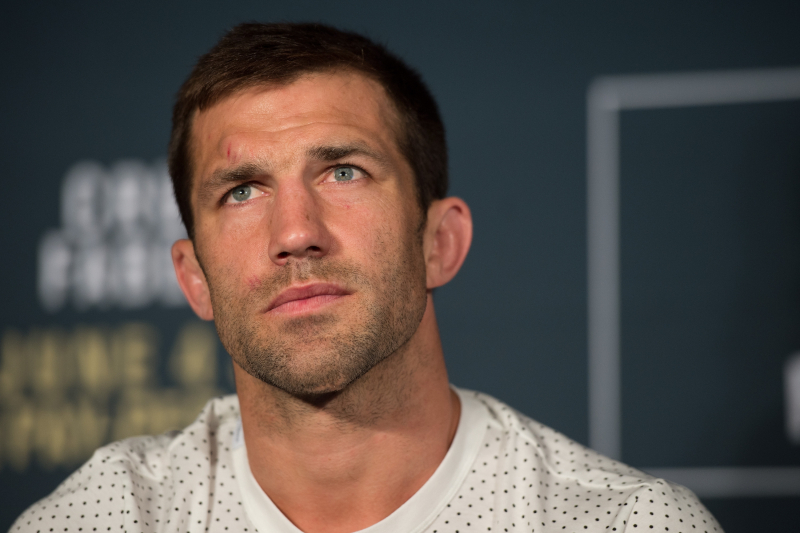 Luke Rockhold Responds to Dana White, Says 'Think Before You Run Your Mouth'