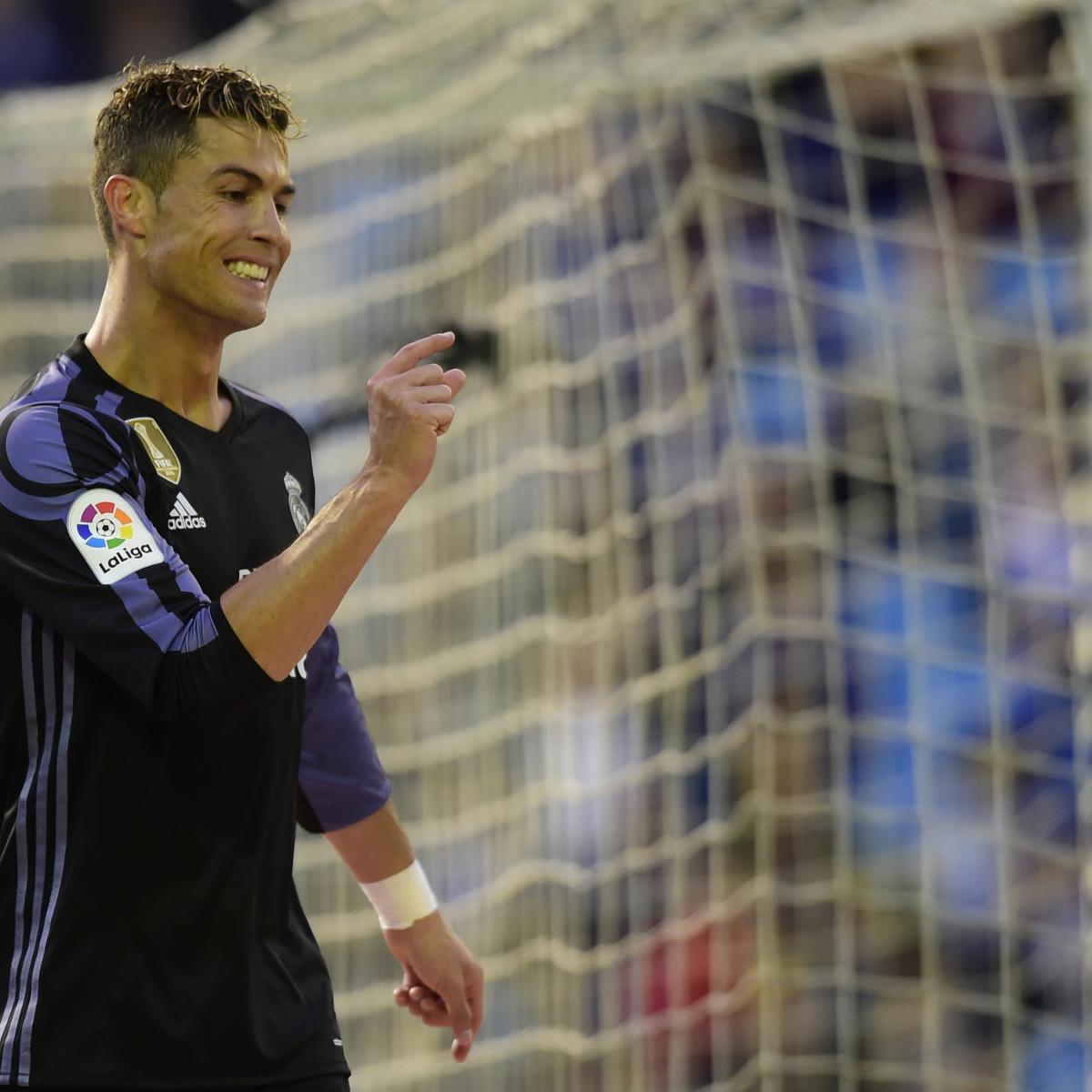 Cristiano Ronaldo Brace Pushes Real Madrid To 4-1 Victory