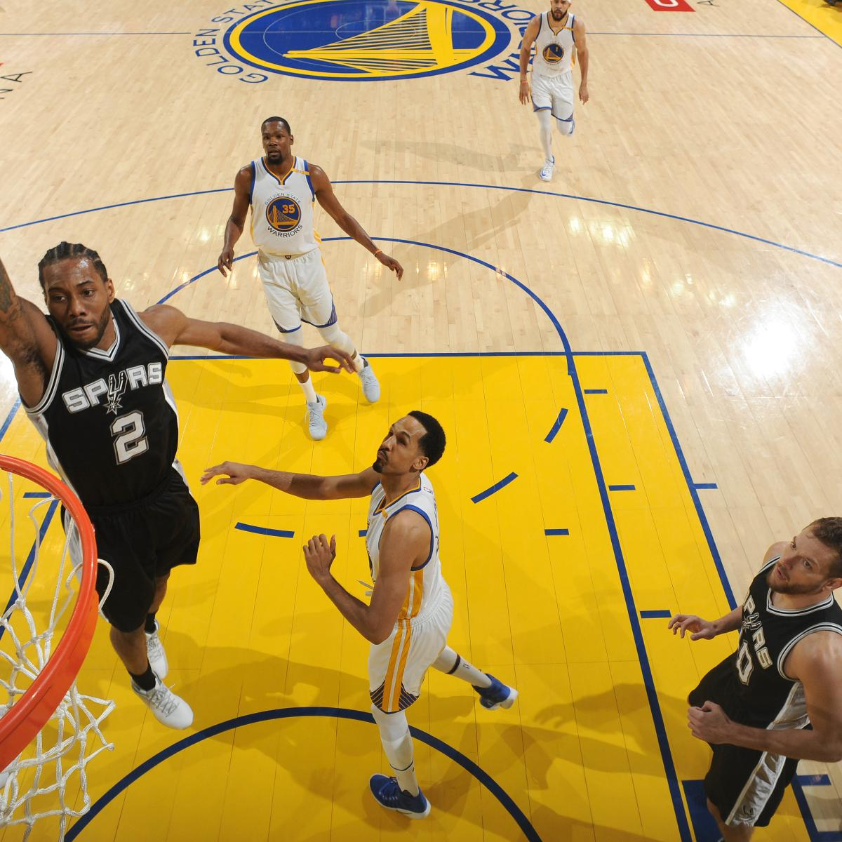 Kawhi Leonard Ruled Out For Game 3 Vs. Warriors After