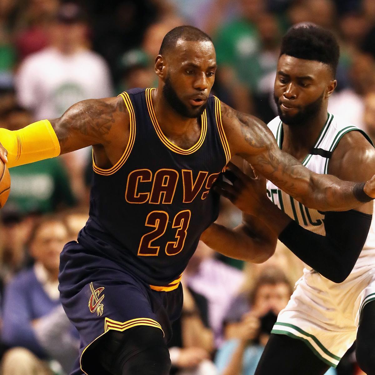 NBA Playoff Schedule 2017: Cavaliers vs. Celtics Game 2 Info ...
