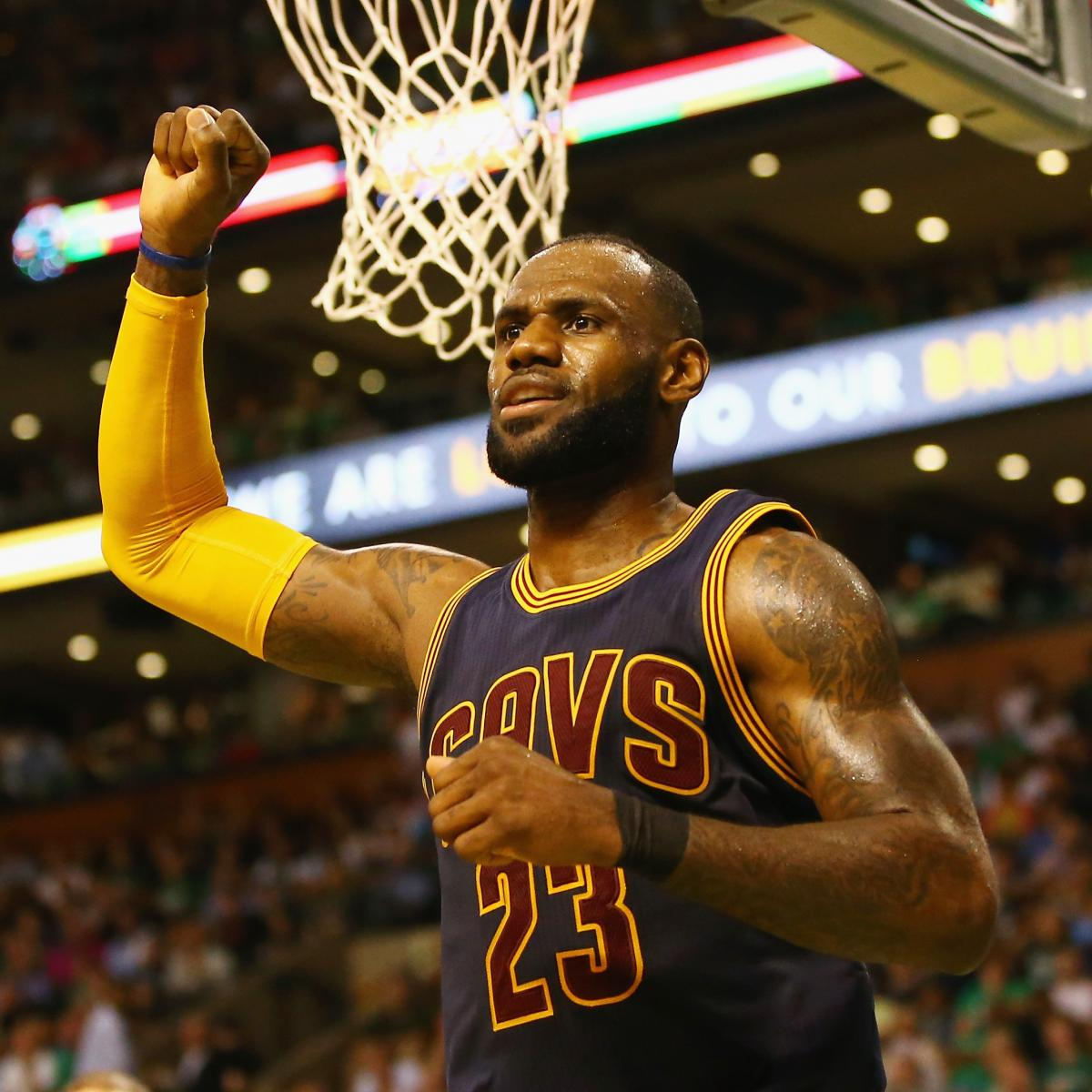 LeBron James, Cavaliers Dismantle Celtics 130-86 in Game 2