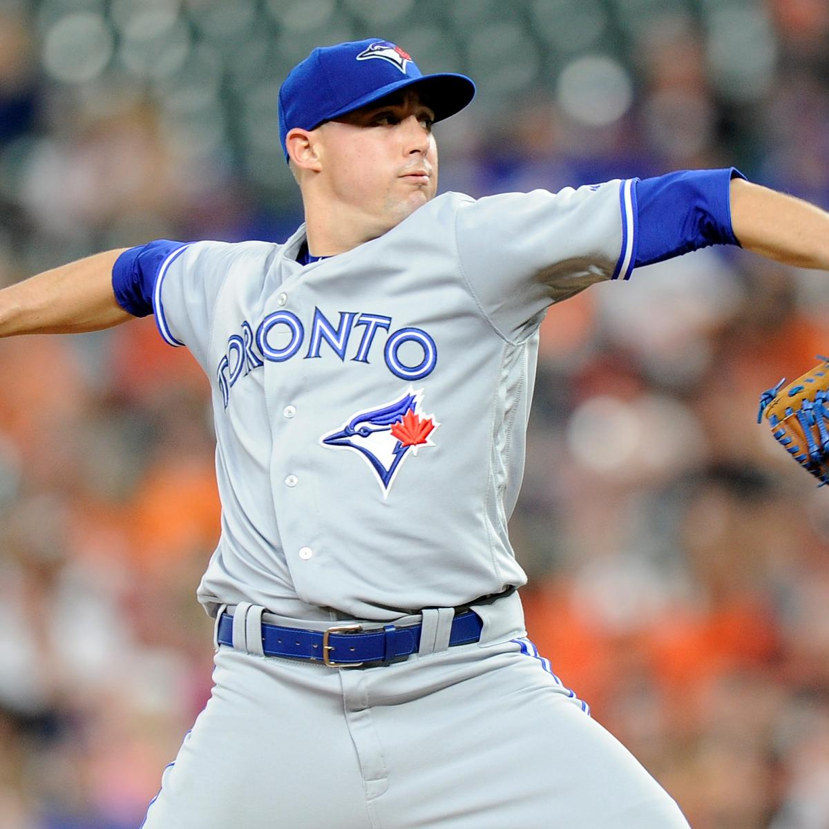 Aaron Sanchez Placed On 10-Day DL By Blue Jays With Finger