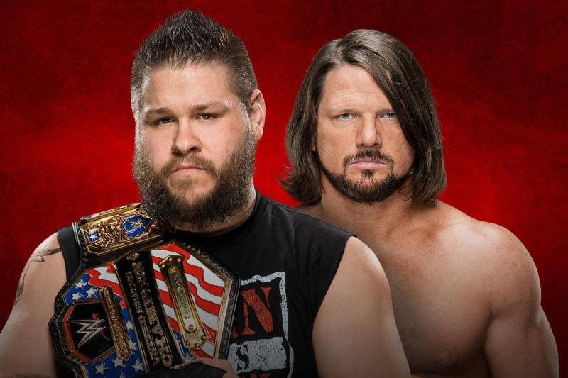 Kevin Owens and AJ Styles will clash at WWE Backlash 2017 in the event's most anticipated match.
