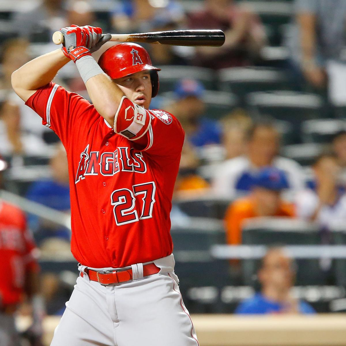 Mike Trout Ties Troy Glaus For 4th-Most Home Runs In