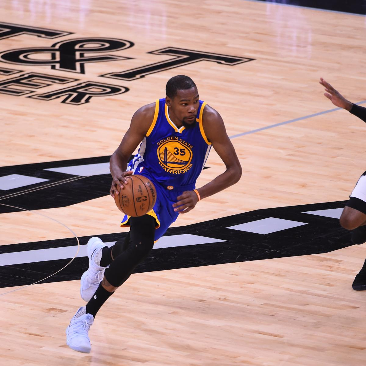 Watch Warriors Spurs Live Stream Free Online: Warriors Record Without Curry Vs Without Durant
