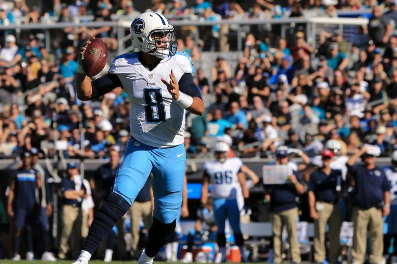 4adbf5fb Marcus Mariota Says Leg Injury 'Felt Great' After Limited Reps at ...