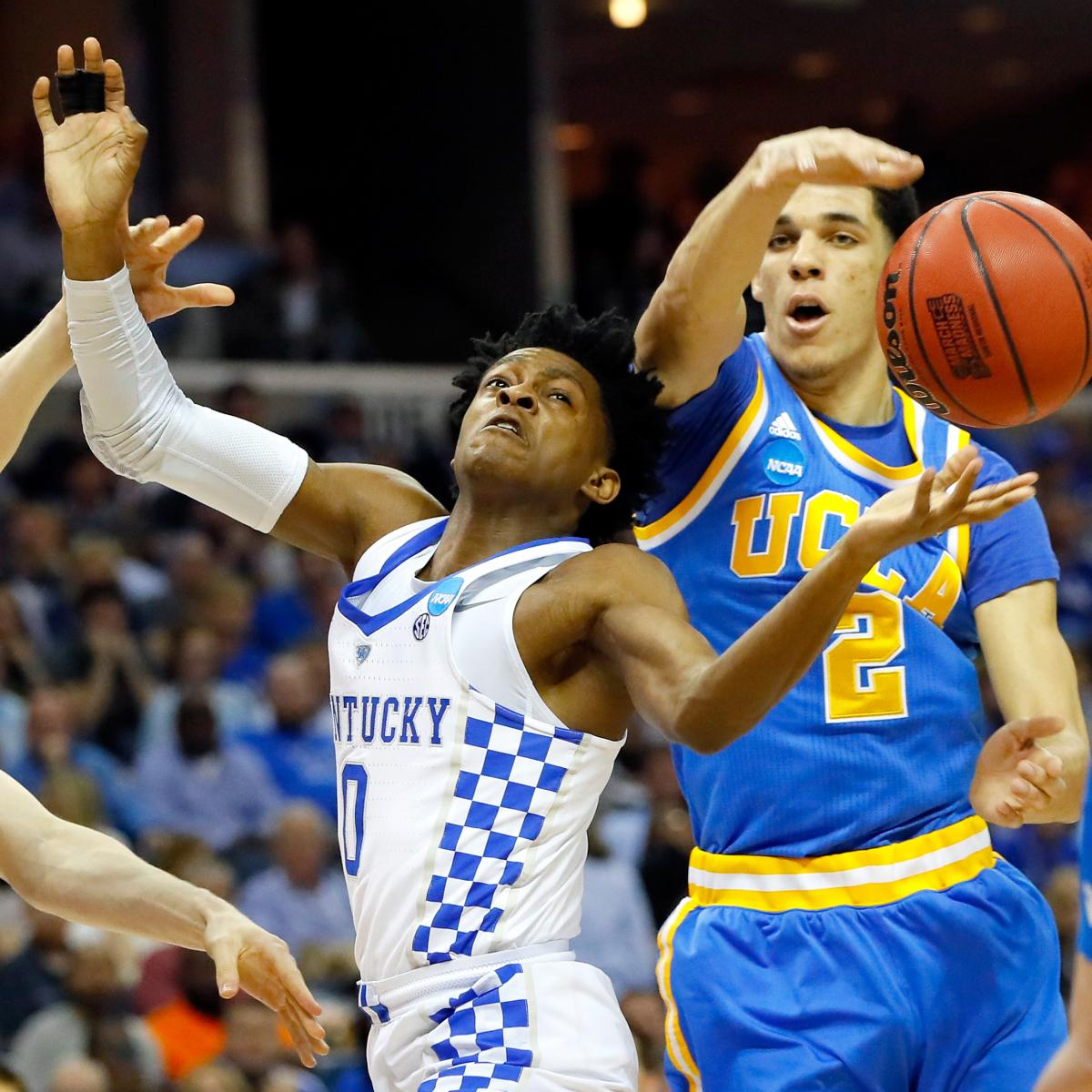 T Of C Alums 2017 Nba Draft: 2017 NBA Mock Draft: Breakdown Of Top PG Prospects And 1st