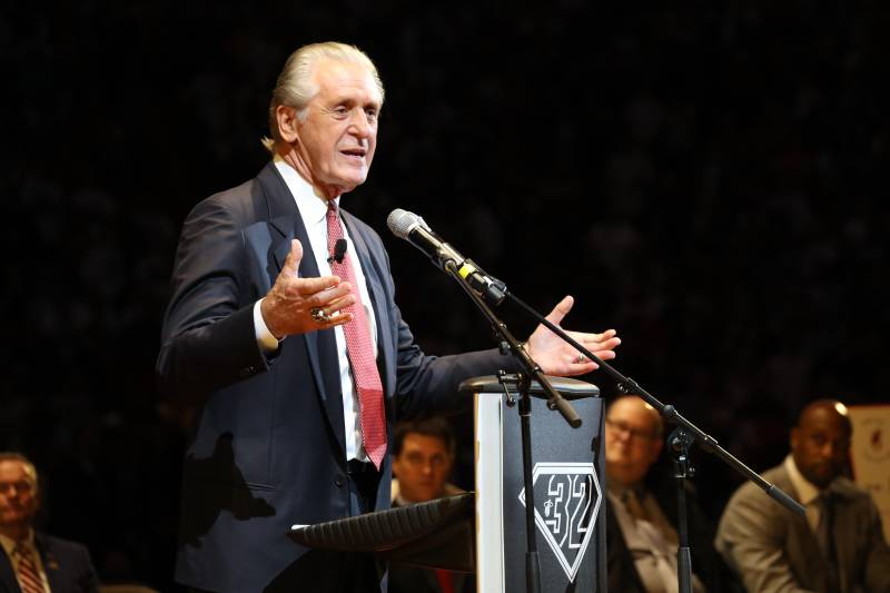 a33d4e096 Pat Riley Talks LeBron James Reaching 7 NBA Finals