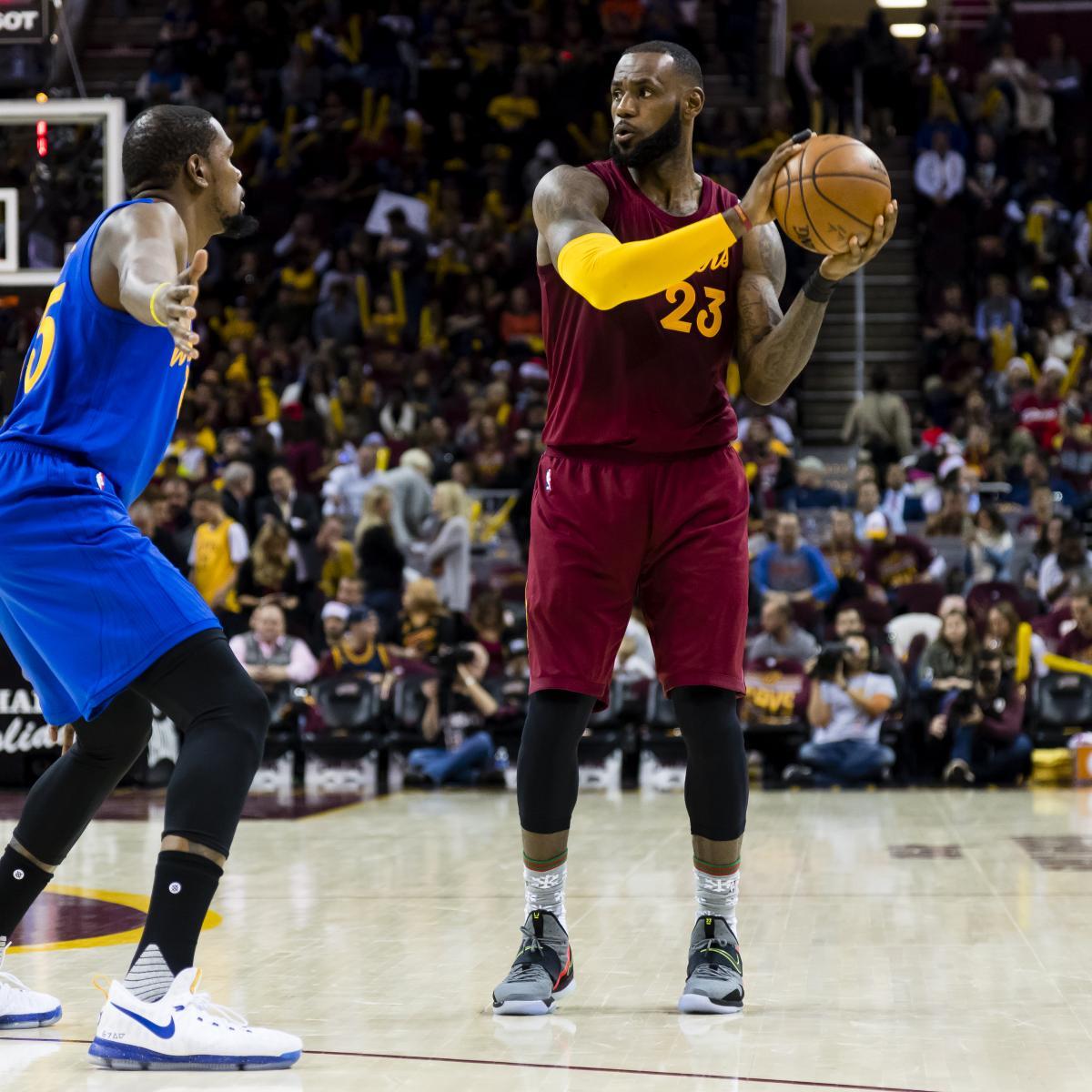 NBA Finals 2017: Cavaliers Vs. Warriors Schedule, Format