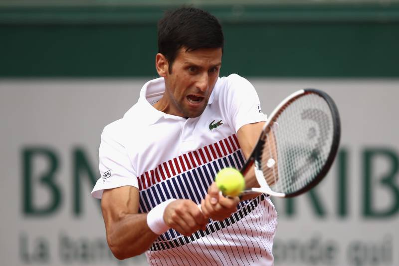 Novak Djokovic Beats Joao Sousa In 3 Sets At 2017 French Open Bleacher Report Latest News Videos And Highlights