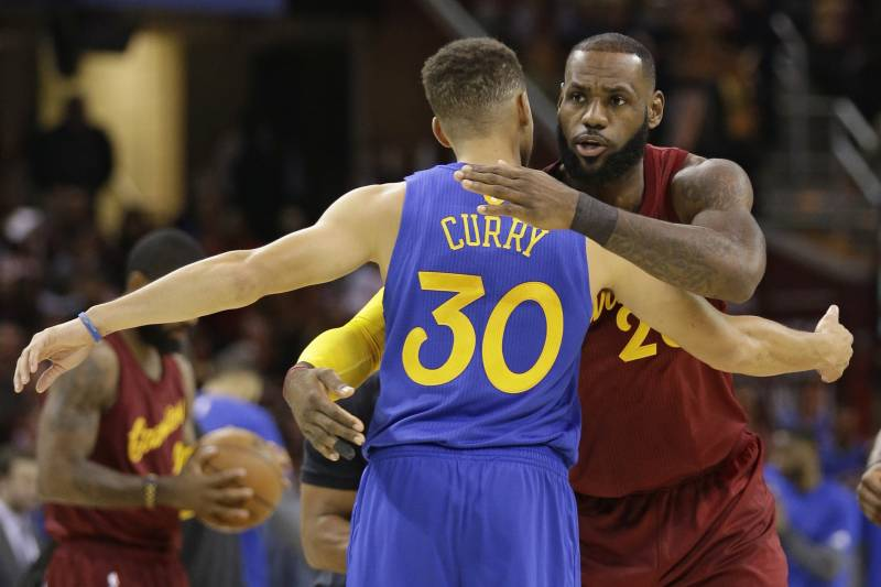 best service a4e6f 4acf1 LeBron-Steph Rivalry Has Made Each a Different, and Better ...